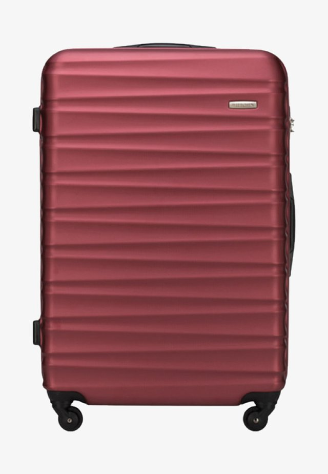 GROOVE LINE - Wheeled suitcase - red