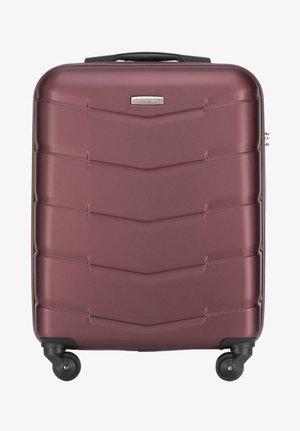 TRAVEL - Wheeled suitcase - bordeaux