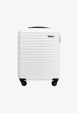 GROOVE LINE - Wheeled suitcase - weiß