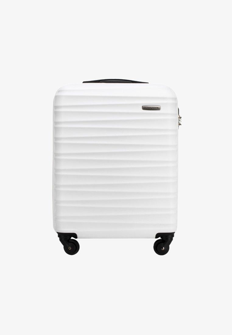 Wittchen - GROOVE LINE - Wheeled suitcase - weiß