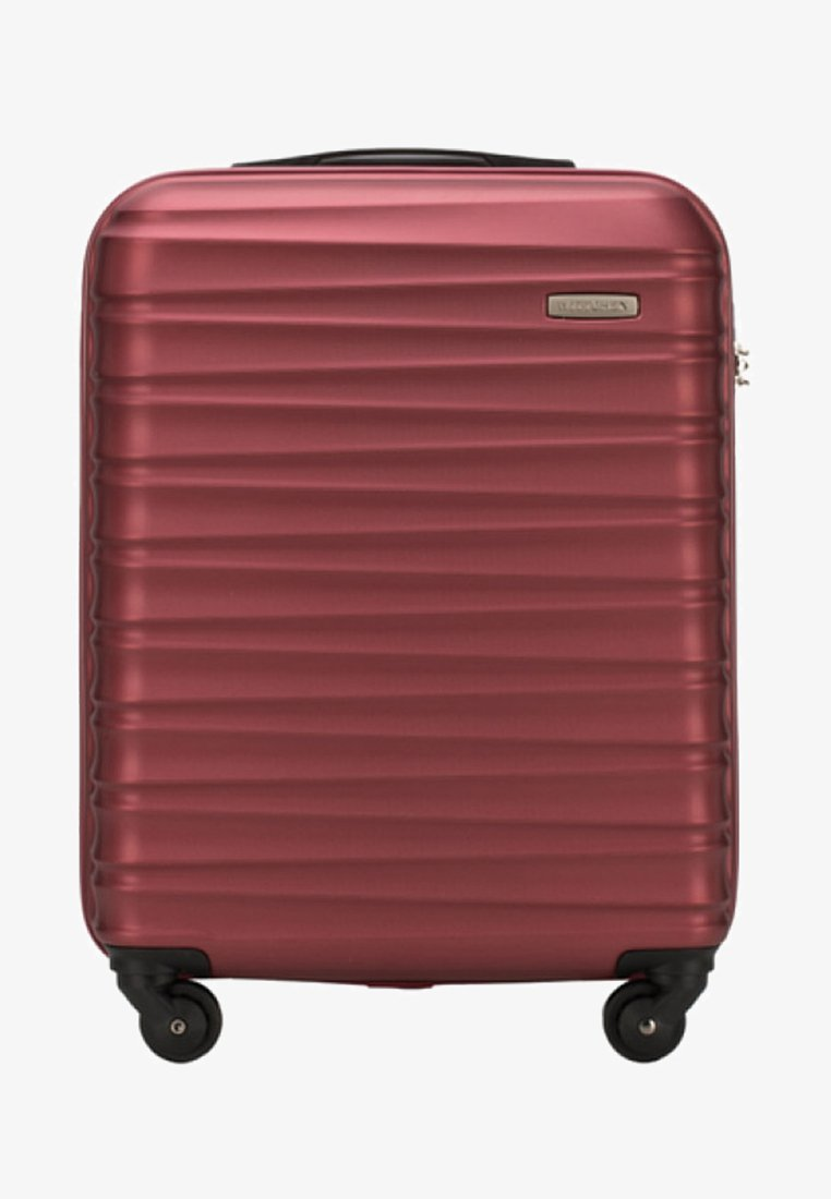 Wittchen - GROOVE LINE - Wheeled suitcase - red