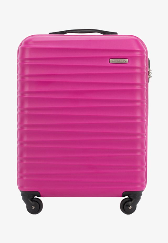 GROOVE LINE - Wheeled suitcase - rosa