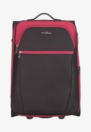 VIP KOLLEKTION - Wheeled suitcase - dark red