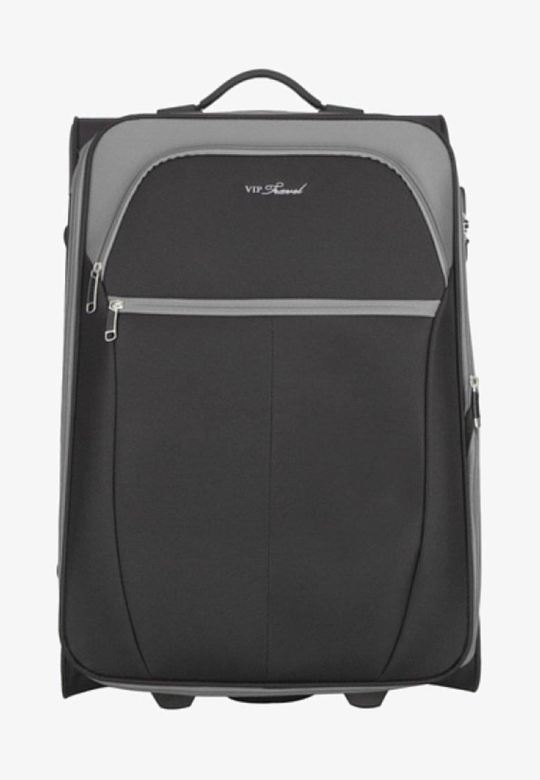 Wittchen - VIP KOLLEKTION - Wheeled suitcase - black/grey