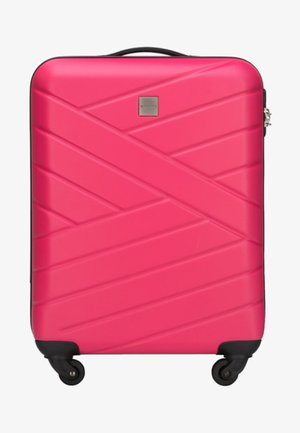 GROOVE LINE  - Wheeled suitcase - pink