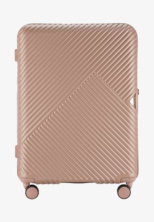 STYLE - Wheeled suitcase - light brown