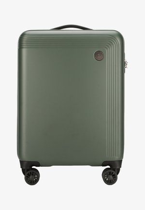 MODERN - Wheeled suitcase - green