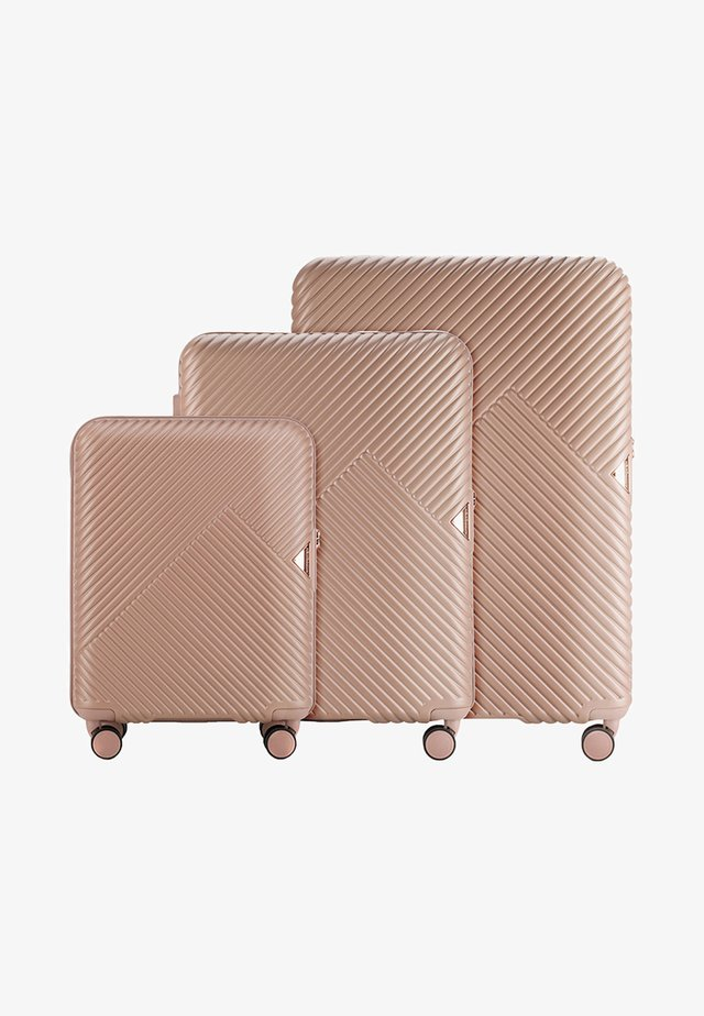 GL STYLE - Luggage set - light brown