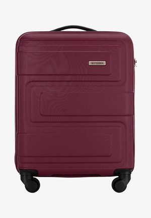 VIP COLLECTION - Wheeled suitcase - burgundy