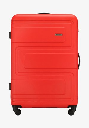 VIP COLLECTION - Wheeled suitcase - red