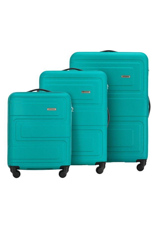 SET - Luggage set - türkis