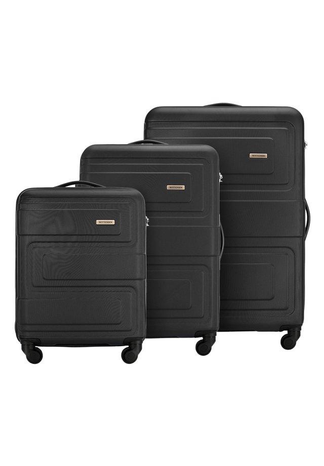 SET - Luggage set - schwarz