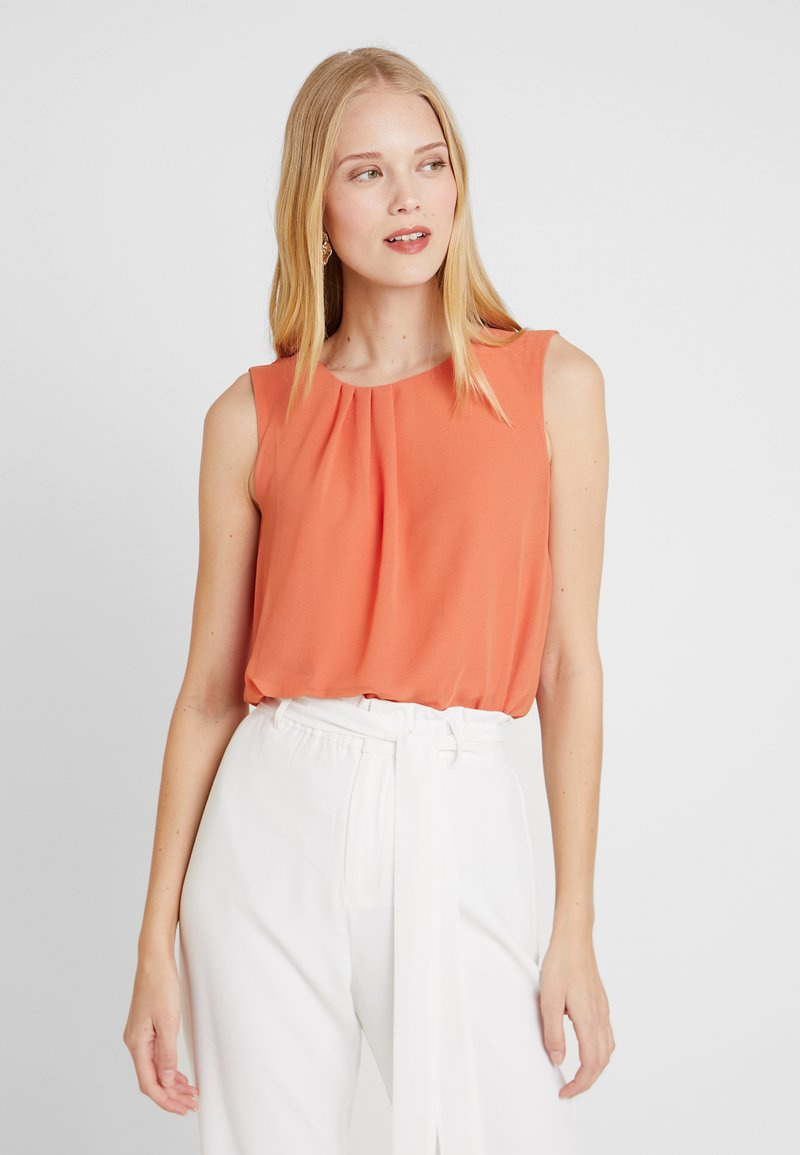More & More - BLOUSE - Bluse - smooth orange
