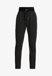 10DAYS - BANANA PANTS TEXT - Pantalon de survêtement - black - 3