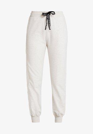 JOGGER - Teplákové kalhoty - soft white melee