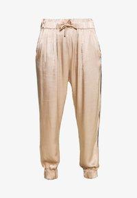 10DAYS - WIDE PANTS - Kalhoty - champagne - 3