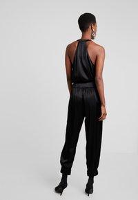 10DAYS - WIDE PANTS - Kalhoty - black - 2
