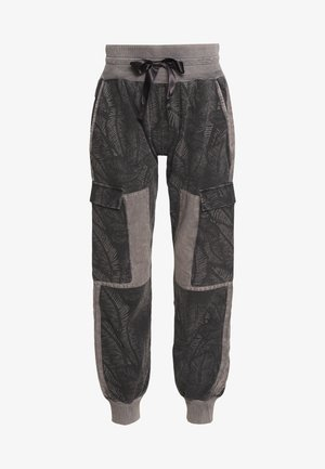 JOGGER FADE OUT LEAF - Tracksuit bottoms - pavement