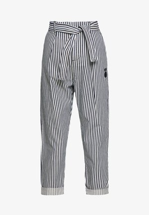 HIGH WAIST PANTS STRIPE - Kalhoty - kit
