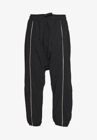 10DAYS - DROPPED PANTS - Teplákové kalhoty - black - 3