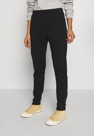 SOFT CHINO  - Pantalon de survêtement - black