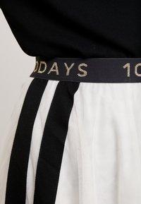 10DAYS - Áčková sukně - winter white - 4