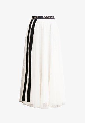 A-line skirt - winter white