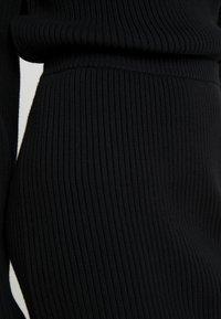 10DAYS - SKIRT - Pouzdrová sukně - black - 4