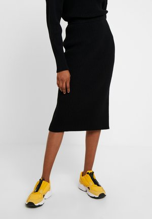 SKIRT - Pencil skirt - black