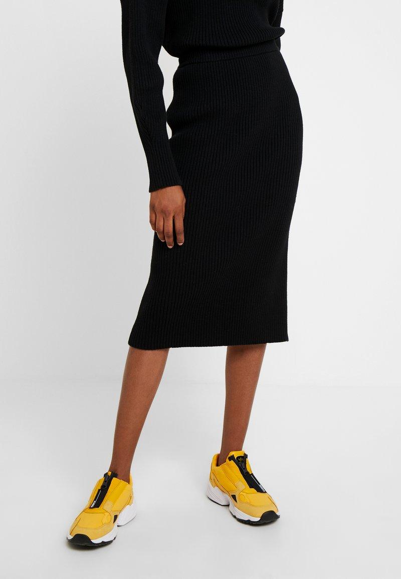 10DAYS - SKIRT - Pouzdrová sukně - black