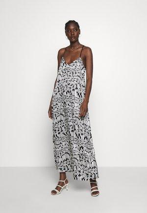 LONG DRESS WAVE - Denní šaty - ecru