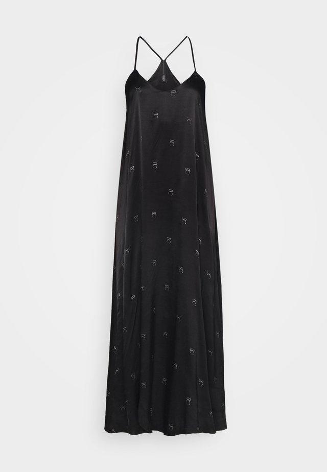 LONG DRESS MEDAL - Maxikleid - black