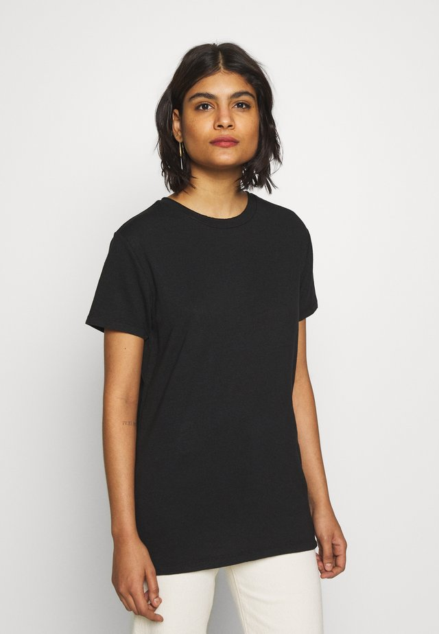 THE SHORTSLEEVE - T-shirt - bas - black