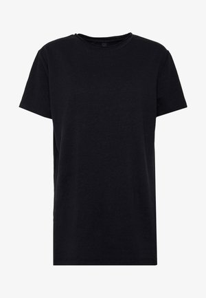 THE SHORTSLEEVE - Jednoduché triko - black