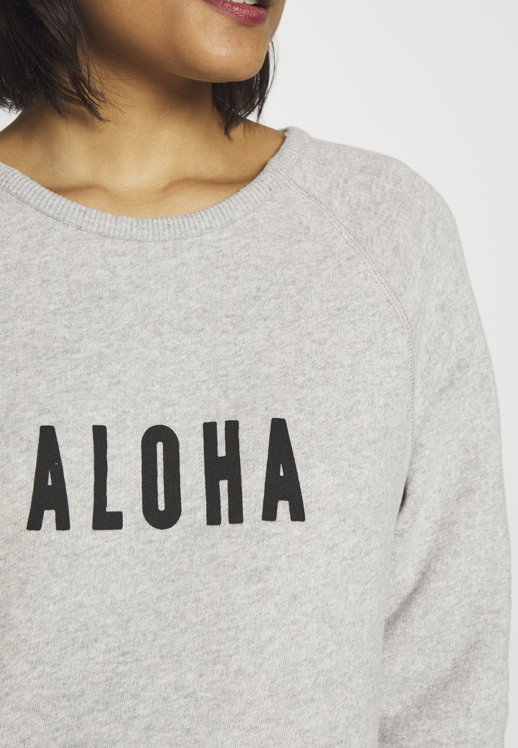 10DAYS ALOHA - Bluza - light grey melee