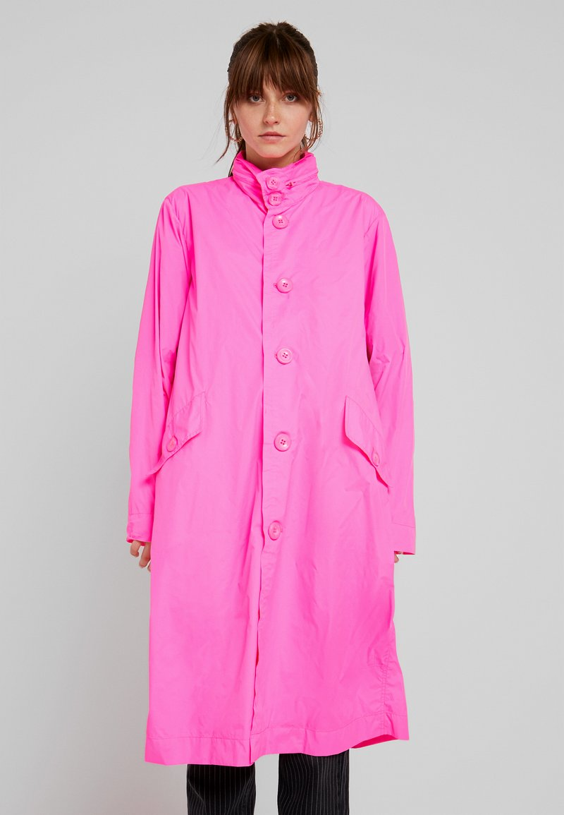 10DAYS - COAT - Parka - fluor pink
