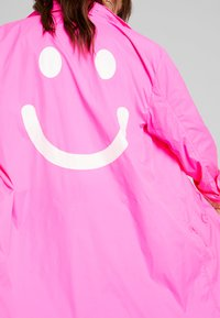 10DAYS - COAT - Parka - fluor pink - 4