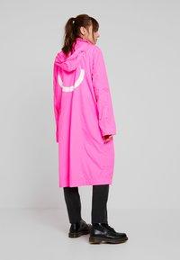 10DAYS - COAT - Parka - fluor pink - 2