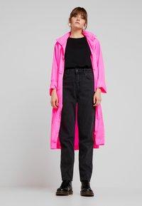 10DAYS - COAT - Parka - fluor pink - 1
