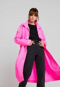10DAYS - COAT - Parka - fluor pink - 3