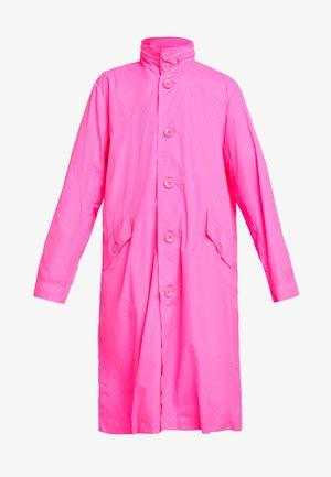 COAT - Parka - fluor pink