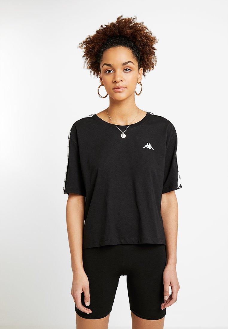 Kappa - ELENI - Camiseta estampada - black