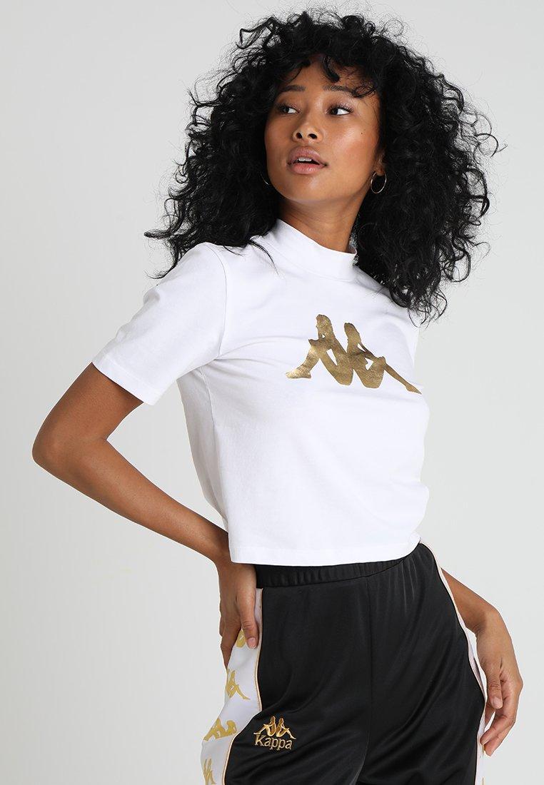 Kappa - EFFI - T-shirts print - white