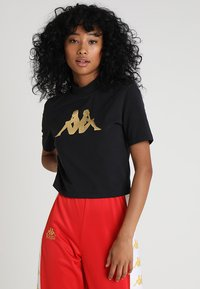 Kappa - EFFI - T-shirts print - black - 0