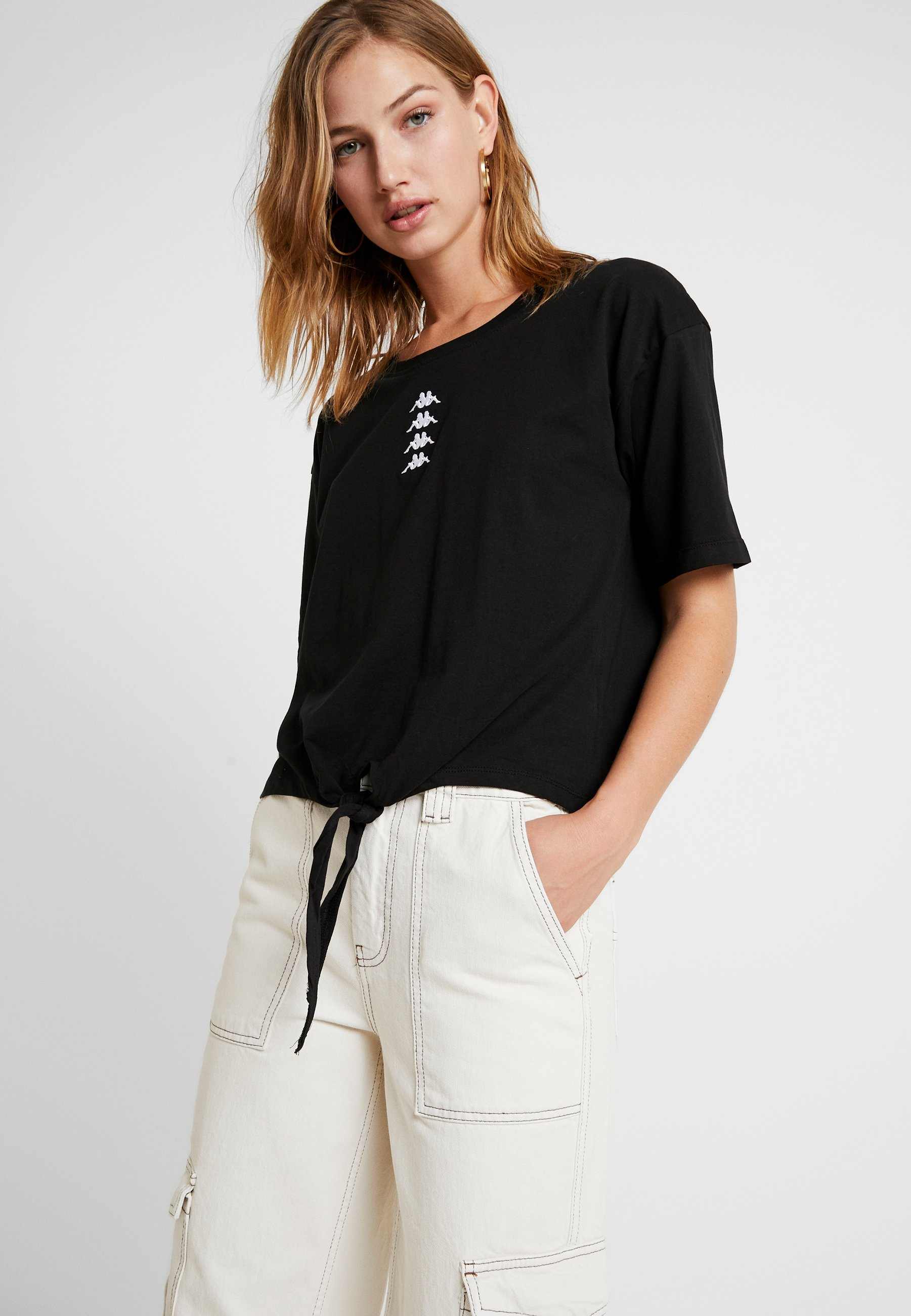 VinkeT shirt Imprimé Black Kappa Kappa vny8mN0wO