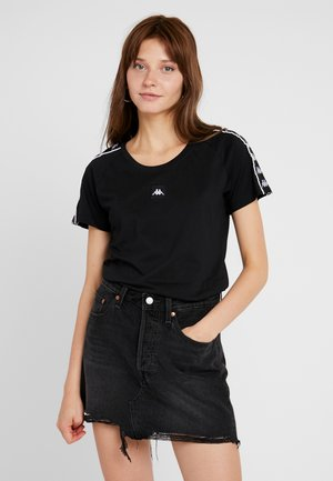 FEMI - T-shirt med print - caviar