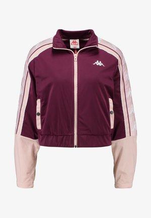 BANDA ANTEY - Trainingsjacke - violet/pink/white