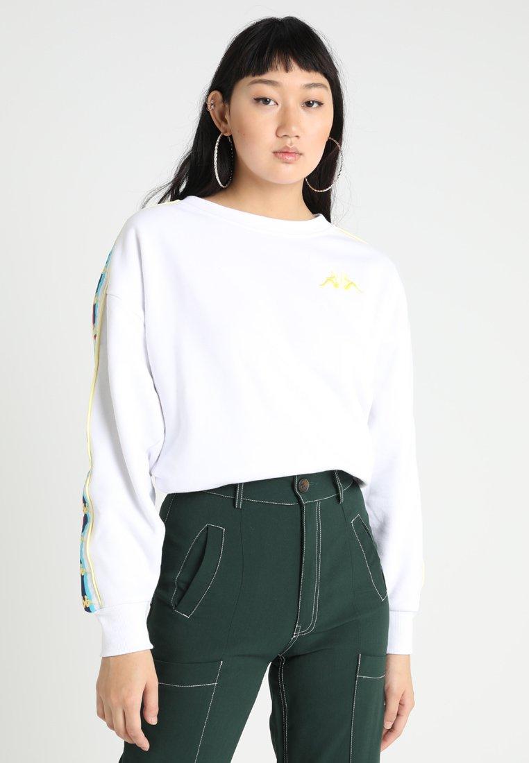Kappa - VERENA - Sweatshirts - white
