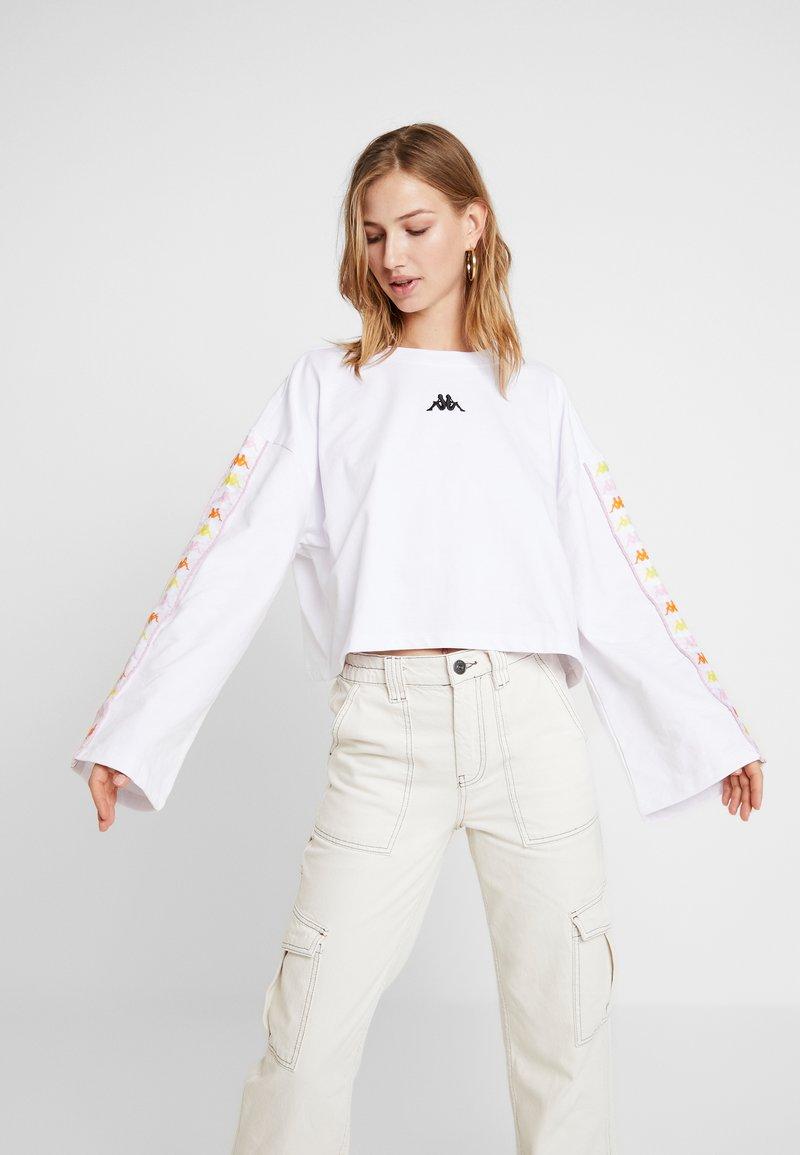Kappa - VILLA - Sweatshirt - white