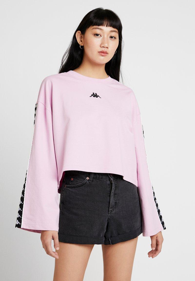 Kappa - VILLA - Sweatshirt - pink lavender